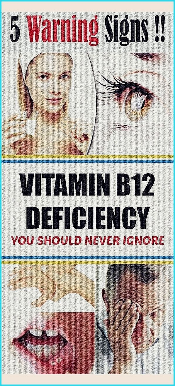 5 Warning Signs Of Vitamin B12 Deficiency That You