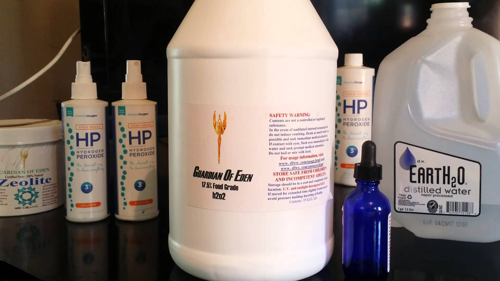 THE GUARDIAN OF EDEN (Hydrogen Peroxide Food Grade) Food