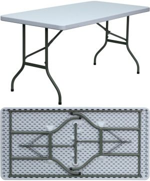 Gray Plastic Folding Tables Flash Furniture Dad Ycz 152 Gg 20 Pack Outdoor Furniture Fabric Furniture Diy Living Room Furniture