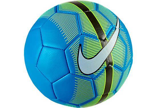 Nike Mercurial Veer Soccer Ball - Blue and Volt  947178468d50f