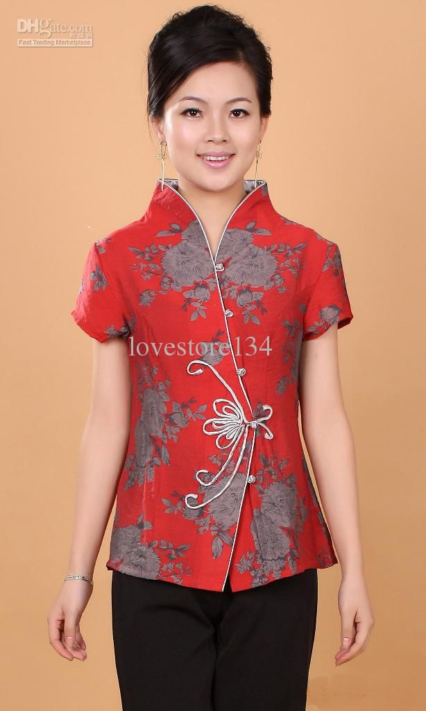 Traditional Chinese Clothing Dress Tang Costumes Women Tang Blouse Ladies Blouses Tang Costume 19 Online with  sc 1 st  Pinterest & Traditional Chinese Clothing Dress Tang Costumes Women Tang Blouse ...