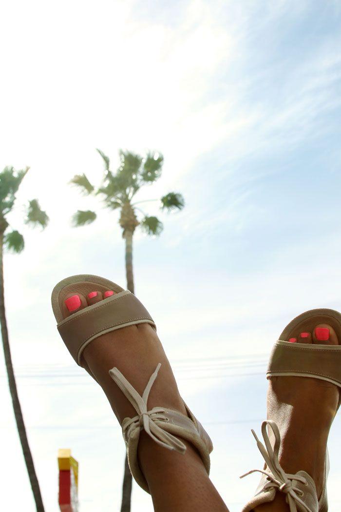 Heels in the sky