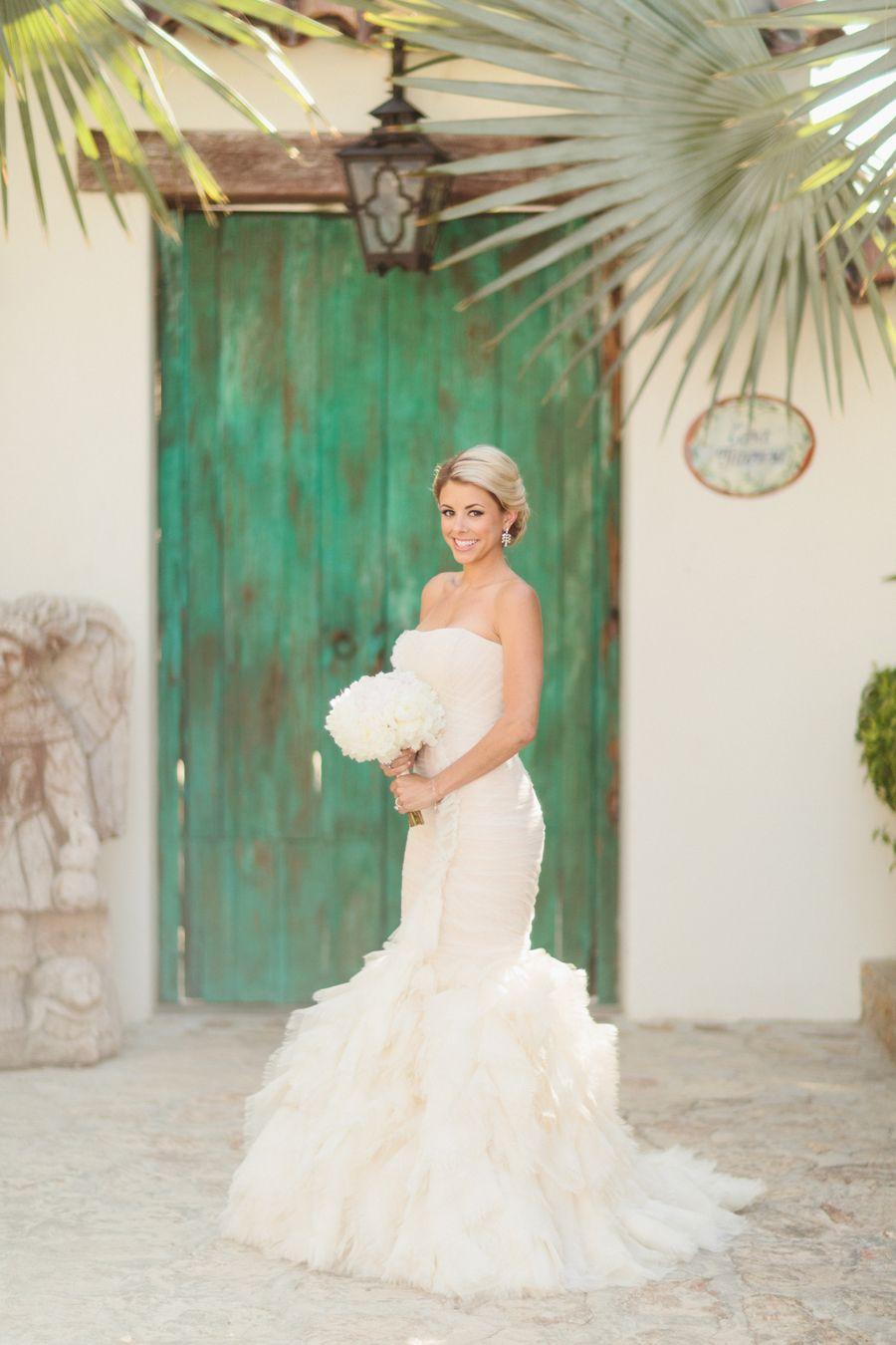 Tropical cabo san lucas beach wedding black books vaulting and