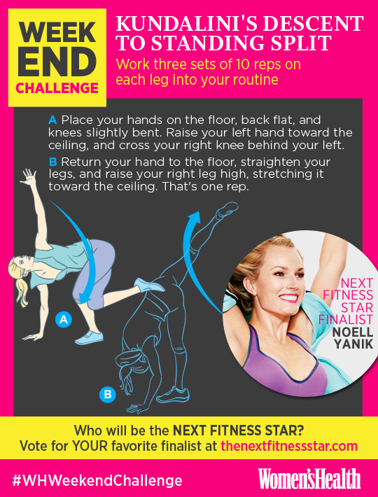 The Yoga Move That Works Your Back, Butt, Legs, and Core  http://www.womenshealthmag.com/fitness/weekend-challenge-kundalinis-descent-to-standing-split