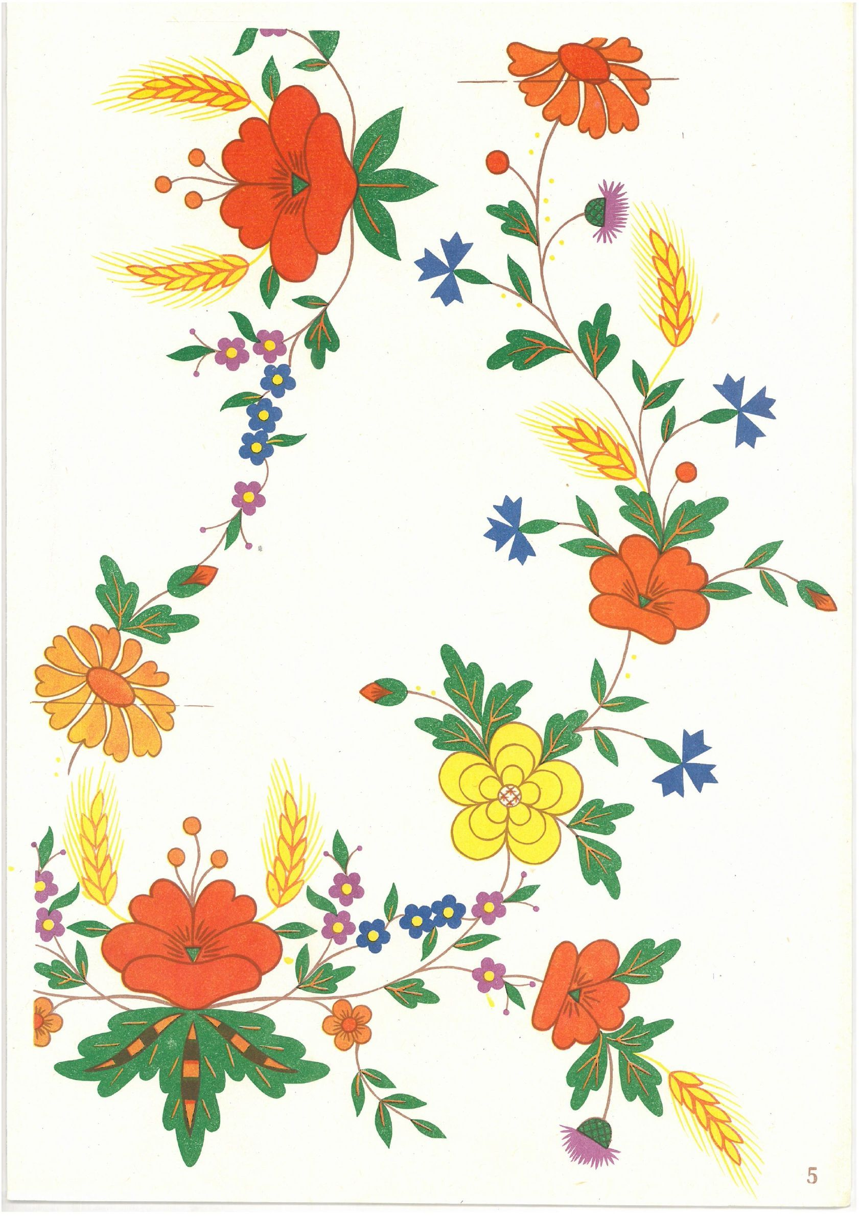 01154a60ca422577135e8174b7d8295d Jpg 1683 2381 Flower Prints Embroidery Embroidery Designs