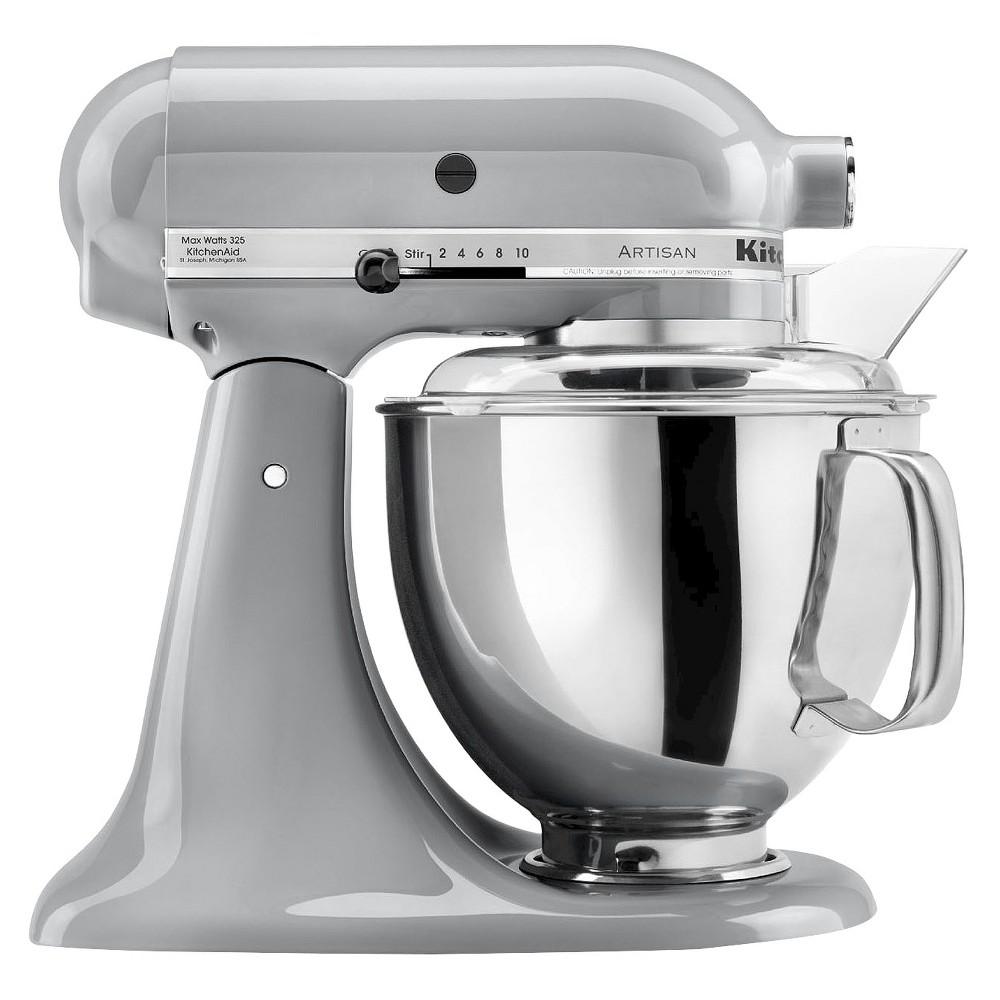 Kitchenaid Series 5 Quart Tilt Head Stand Mixer Ksm150 Imperial Grey