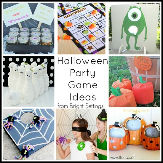 Halloween Party Game Ideas Pinterest Halloween party games, Game - halloween party ideas games