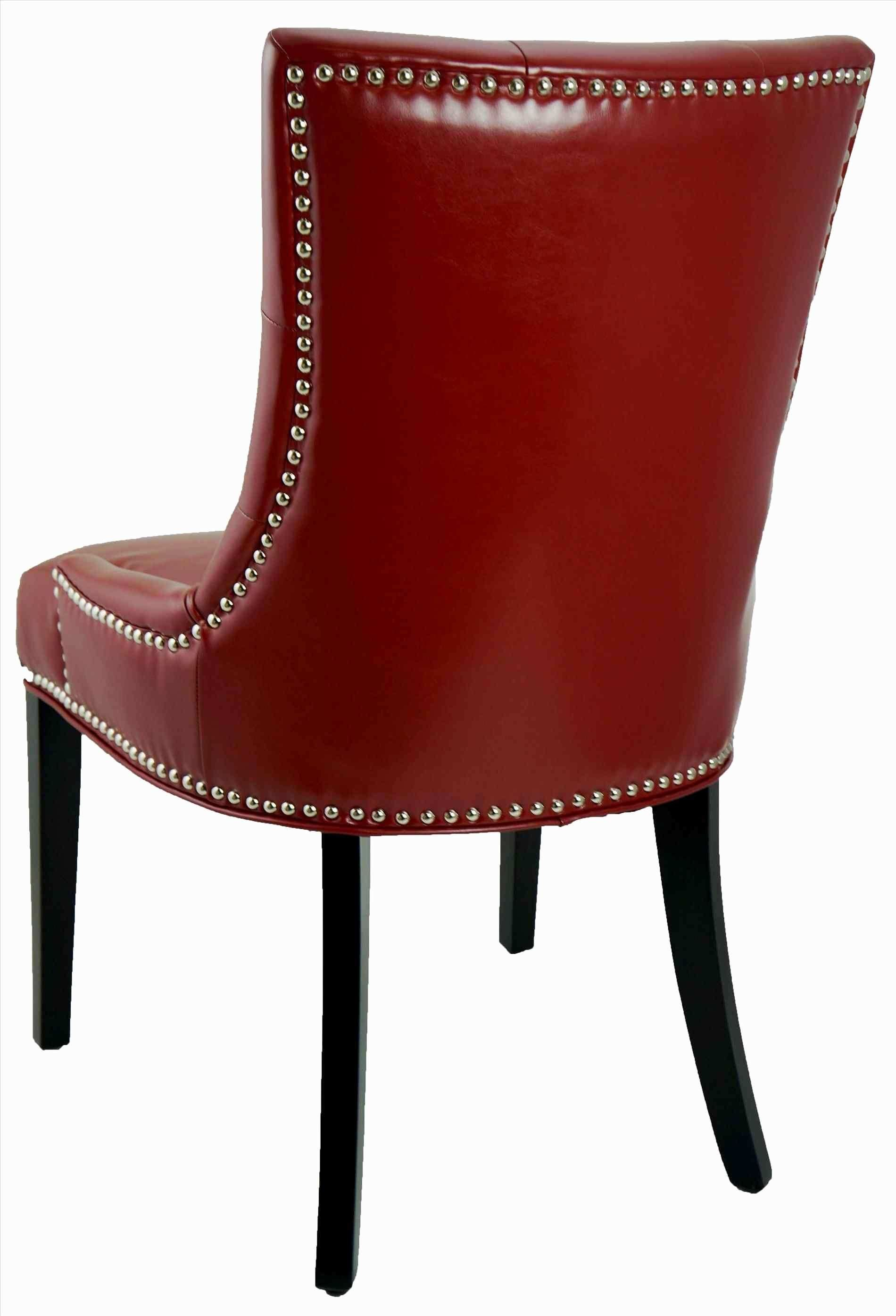 Red Leather Dining Room Chairs Leder Esszimmer Stuhle