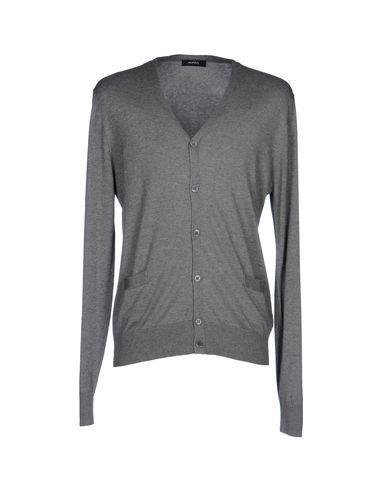 ALPHA STUDIO Men's Cardigan Grey 44 suit