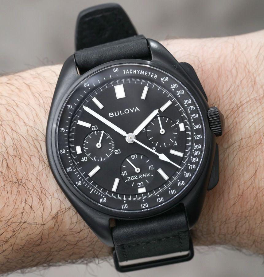 f843038b88e Bulova Moon Watch Chronograph 98A186 For 2017 Hands-On