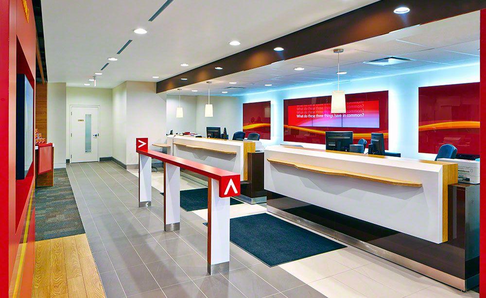 retail bank design cibc canada | Interiors | Bank interior design ...