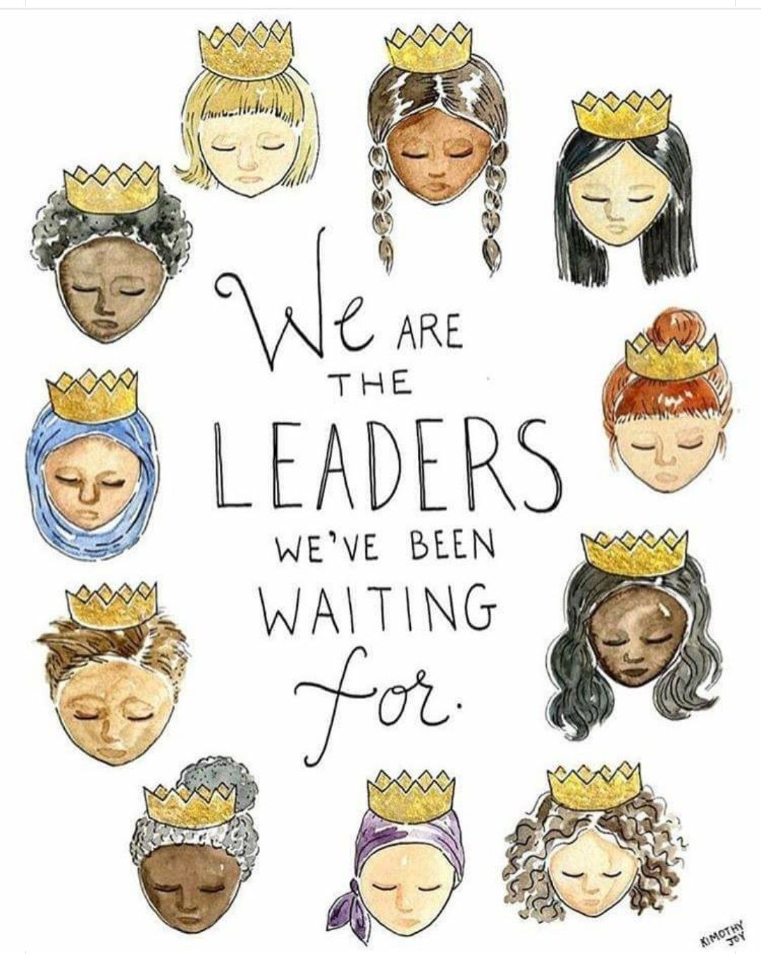 Image result for we are the leaders we've been waiting for quote