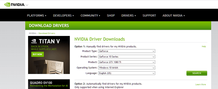 Download Nvidia Geforce Rtx 2080 Ti Drivers Windows 10 Nvidia Windows 10 Windows