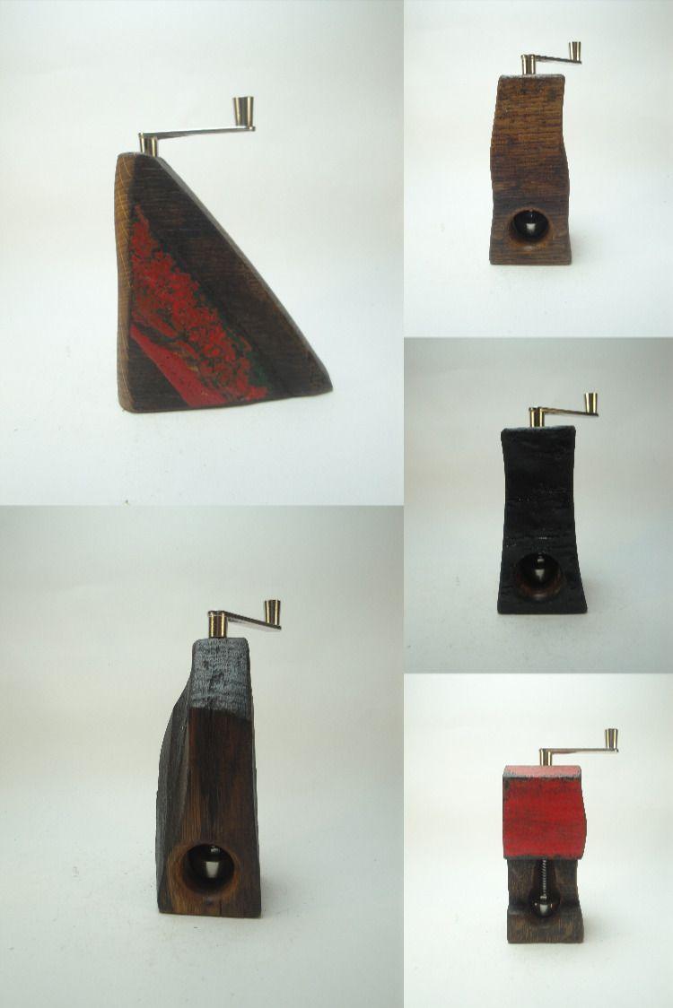 Muskatmuhlen Upcycling Alte Fasser In 2020 Muskatmuhle Holz Muhle