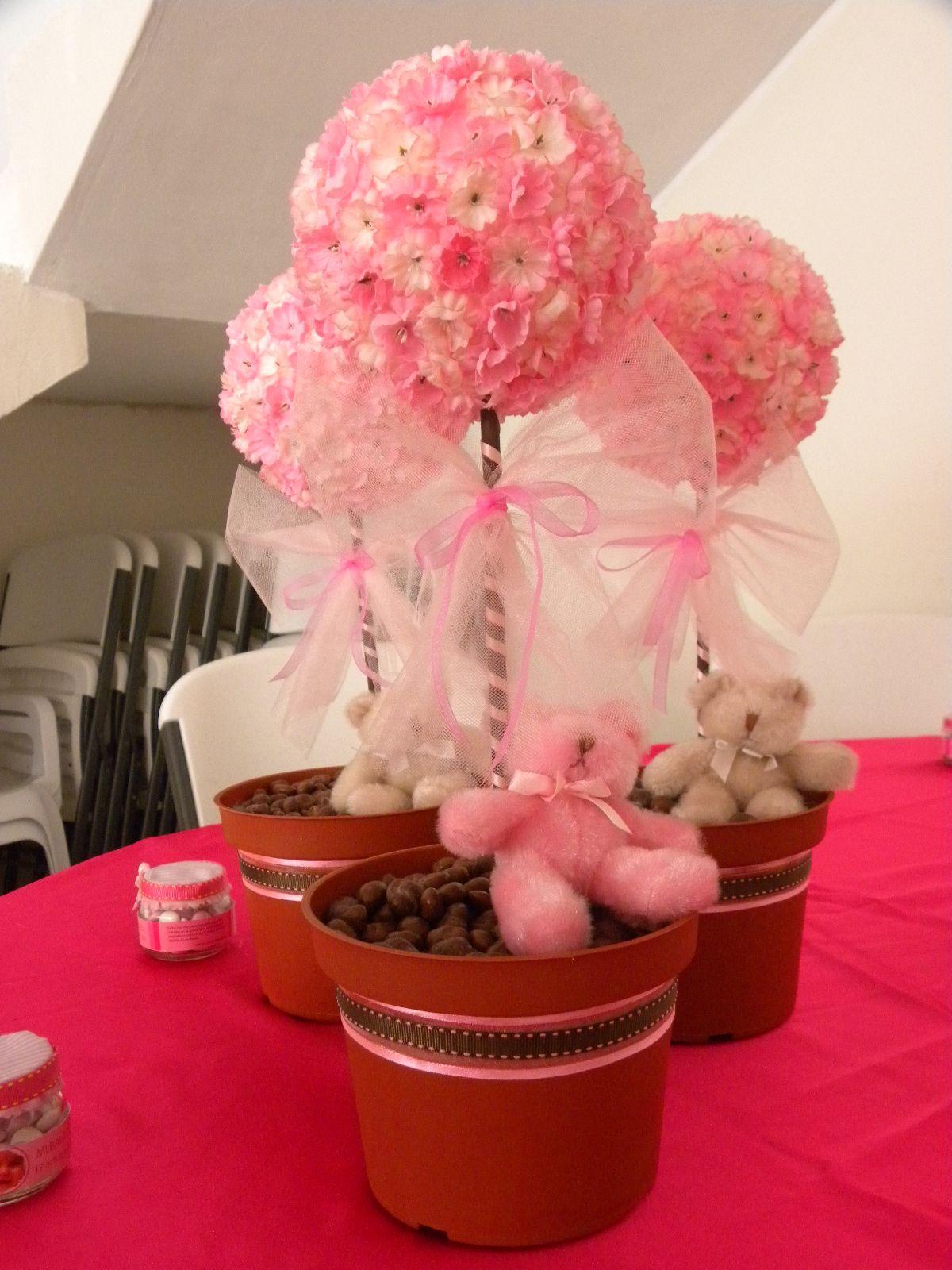 Ideas para bautizo babies babyshower and centerpieces