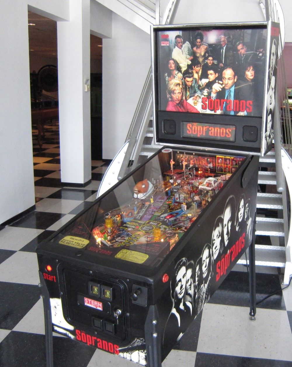 The Sopranos Pinball, Pinball machine, Gaming products