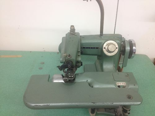 Vintage Glaco Blindstitch Industrial Commercial Hemming Sewing Extraordinary Glaco Industrial Sewing Machine