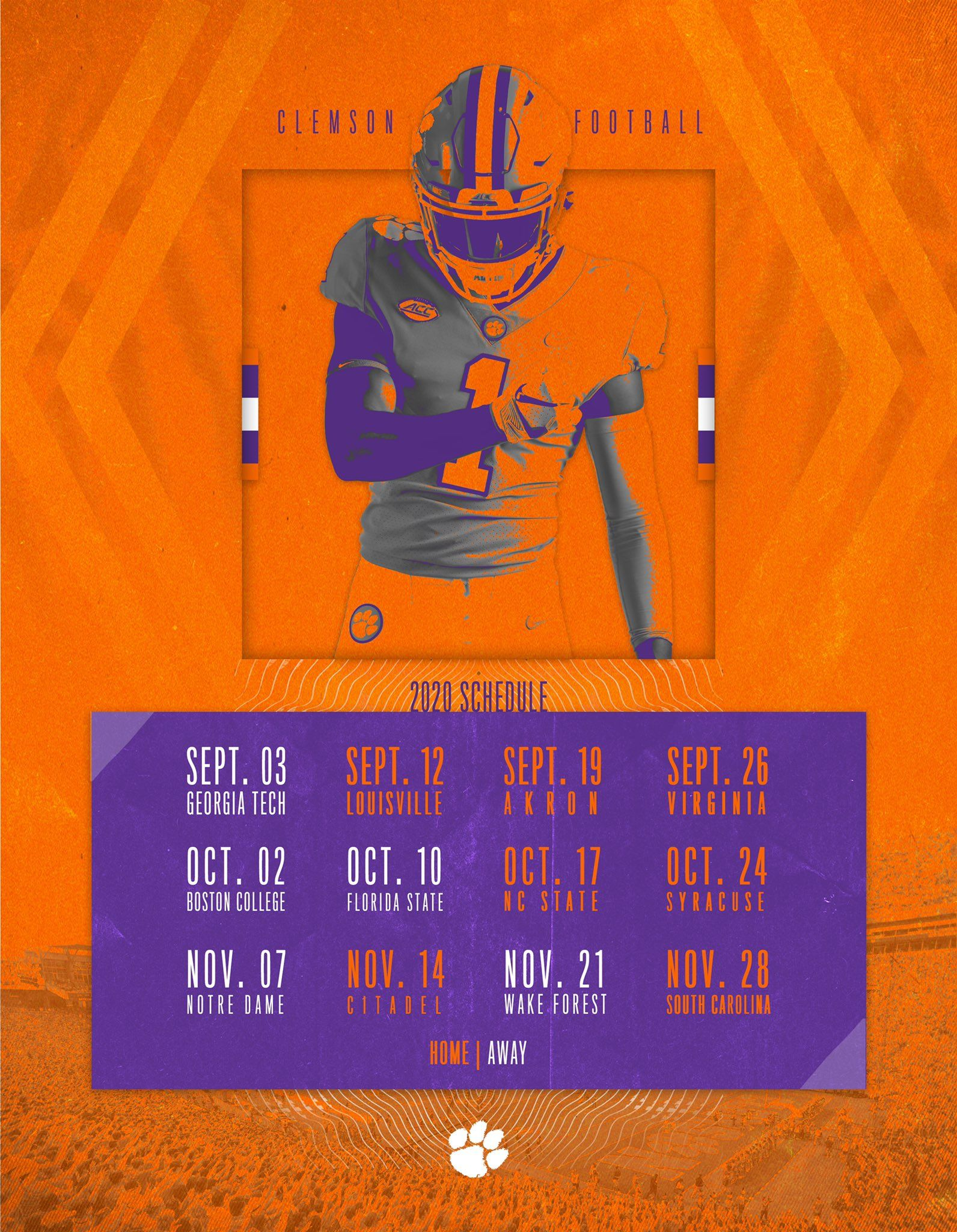 2020 Clemson football schedule in 2020 Clemson football