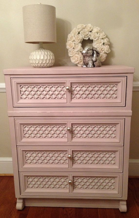 Pink Please Hand Chalk Painted Annie Sloan Antoinette All Girl ...