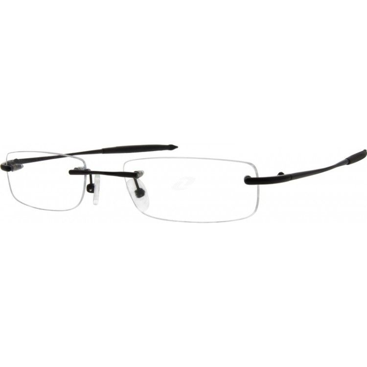 fa09520308a A men s style rimless memory titanium frame with silicone temple tips.  Adjustable silicone nose pads ensure comfort fit...Price -  27.95