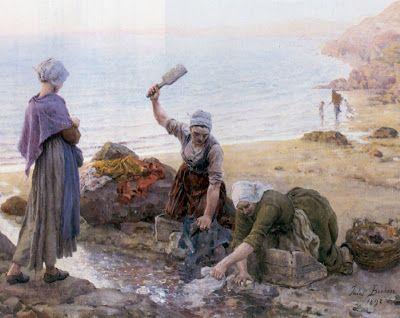 Les Secondes Au Temps Des Peintres Du Xixeme Jules Breton Peintre Peinture Art