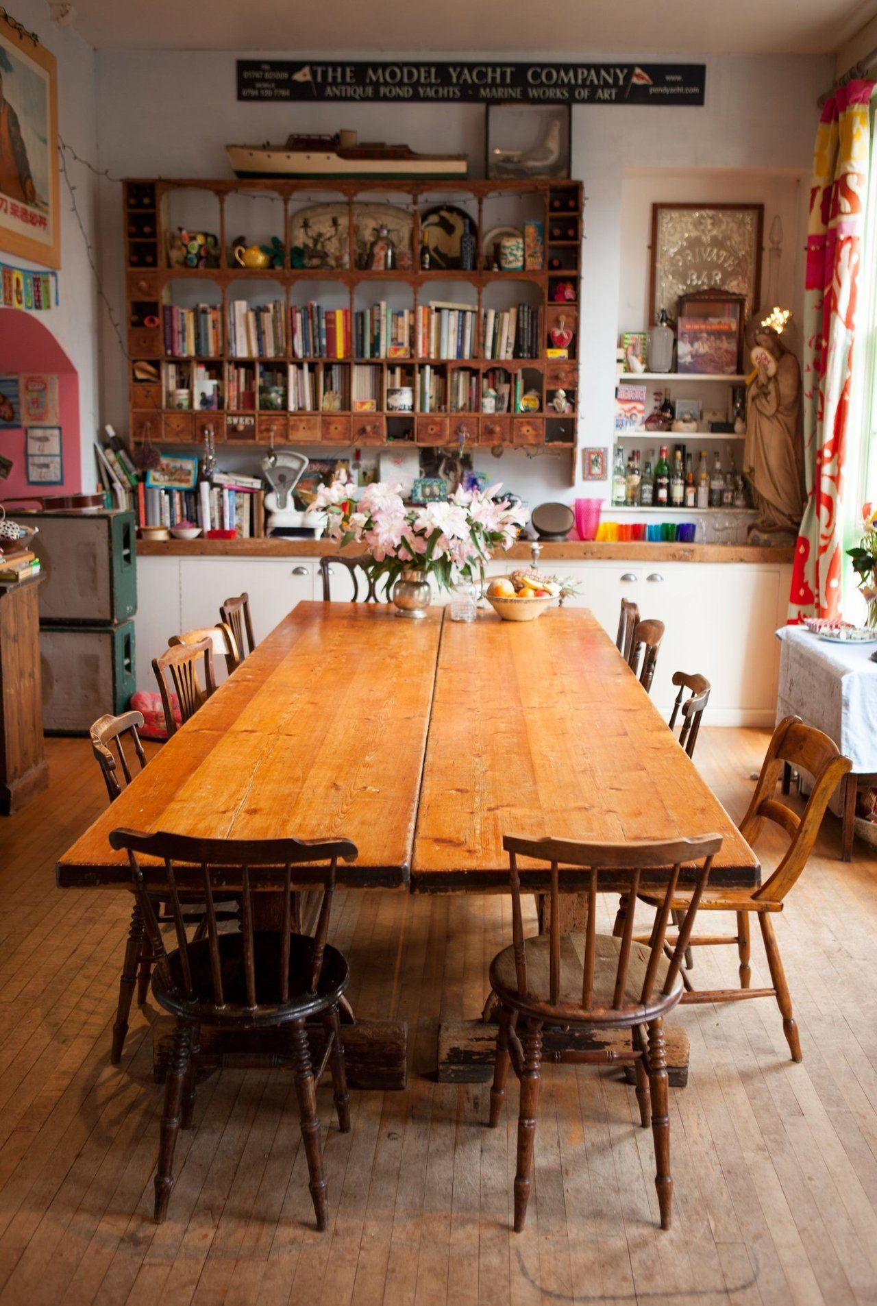 Caro Josh S Colorful Quirky English Home Eclectic Kitchen