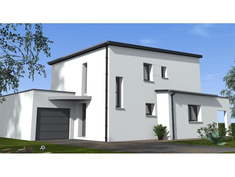 Maison contemporaine Alissa Néology façade avant