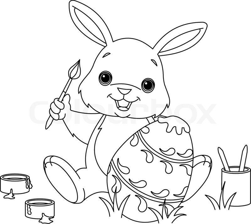 Pin Von Lady Bugs Auf Paste Malvorlage Hase Ausmalbilder Osterhasen Bilder Zum Ausmalen