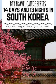 DIY Travel Guide Series 14 Days & 13 Nights in South Korea