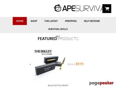Ape survival choose from 10 survival and self defense products fandeluxe Choice Image