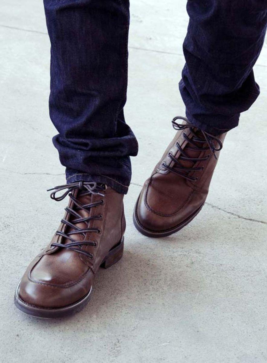 10 beste idee n over boots homme cuir op pinterest. Black Bedroom Furniture Sets. Home Design Ideas