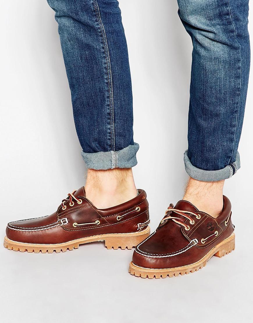 Timberland Classic Lug Boat Shoes