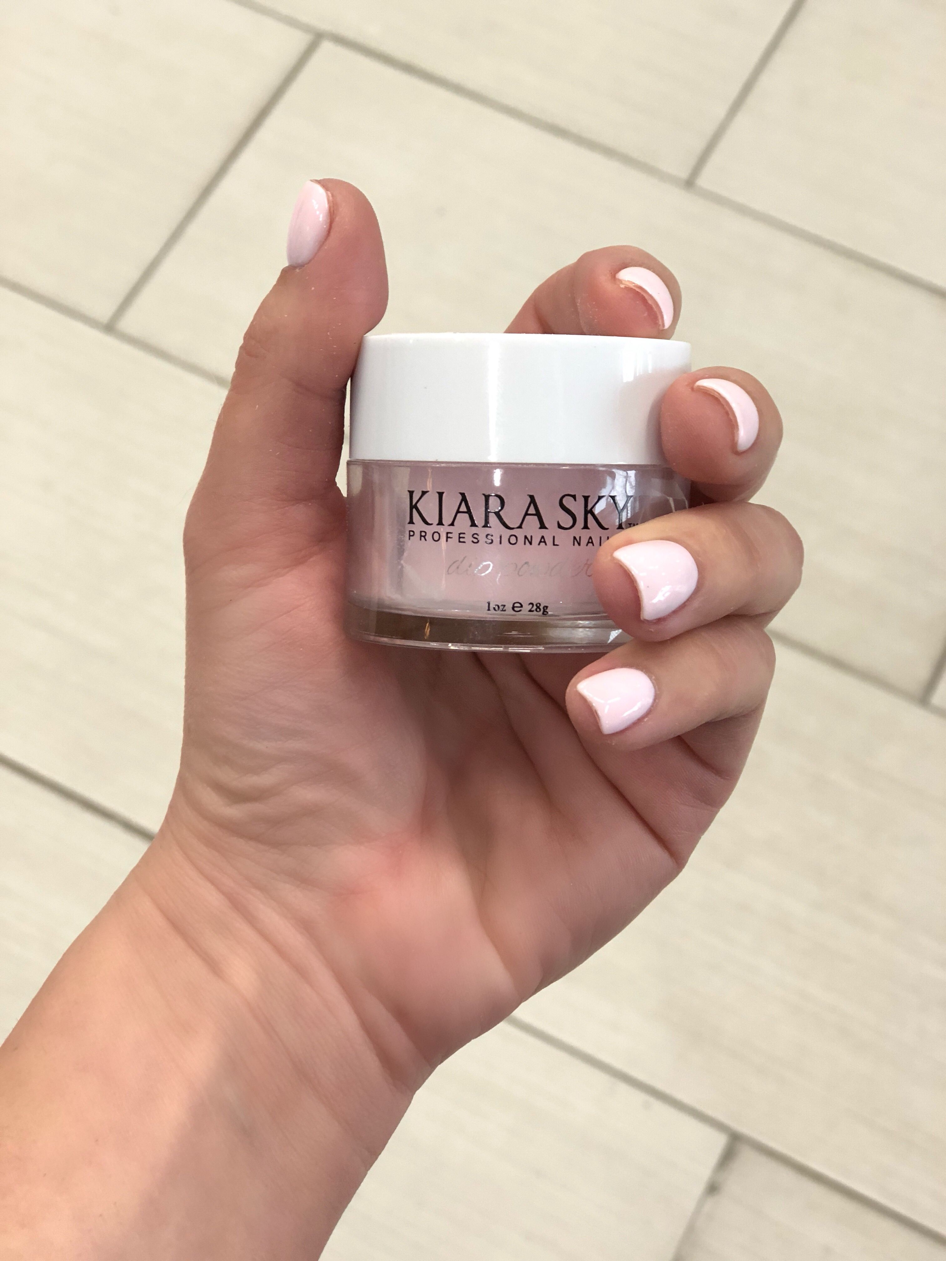 This Color Is The Simple Life By Kiara Sky I Love That There Is No Uv Light Necessary With Dip Nail Dipped Nails Sns Nails Colors Nail Dipping Powder Colors