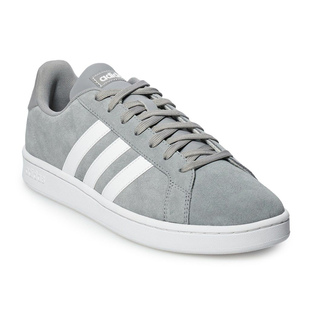 adidas Grand Court Men's Suede Sneakers | Sneakers, Adidas
