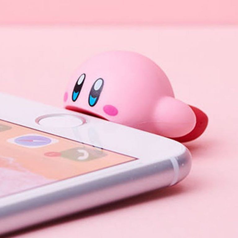Smartphone accessories  Kirby/'s Dream Land #1 Kirby CABLE BITE