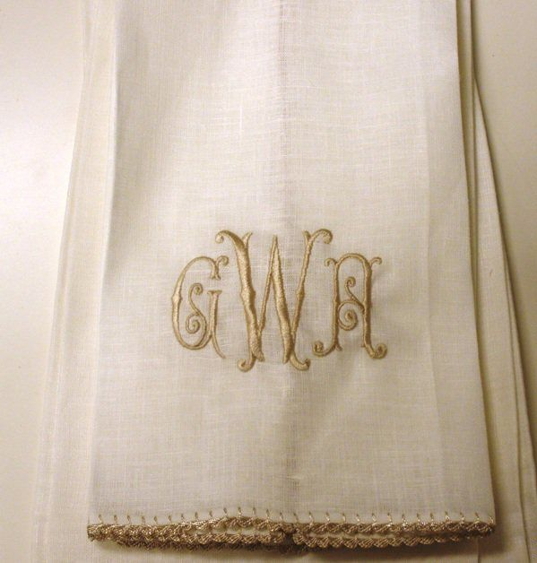 Gramercy: Monday's Monograms