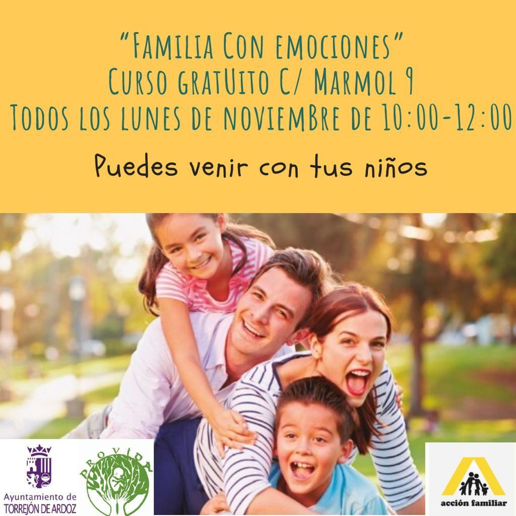 Familia Con Emociones Emociones Familia Alcala De Henares