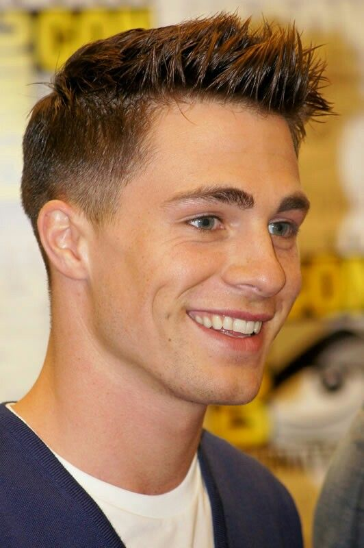 19++ Colton haynes hairstyle information
