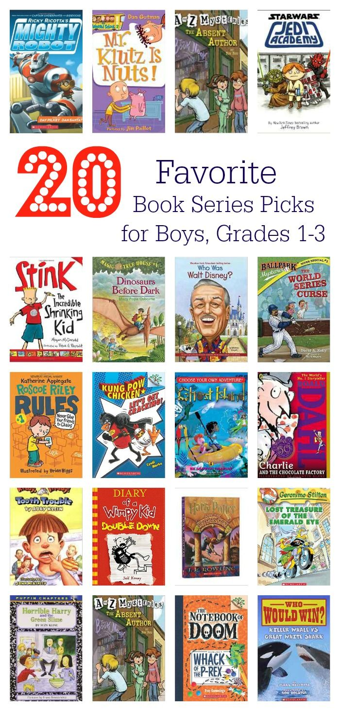 20 Book Series Recommendations For Boys Grades 1 3 The Chirping Moms 3rd Grade Books 2nd Grade Books Books