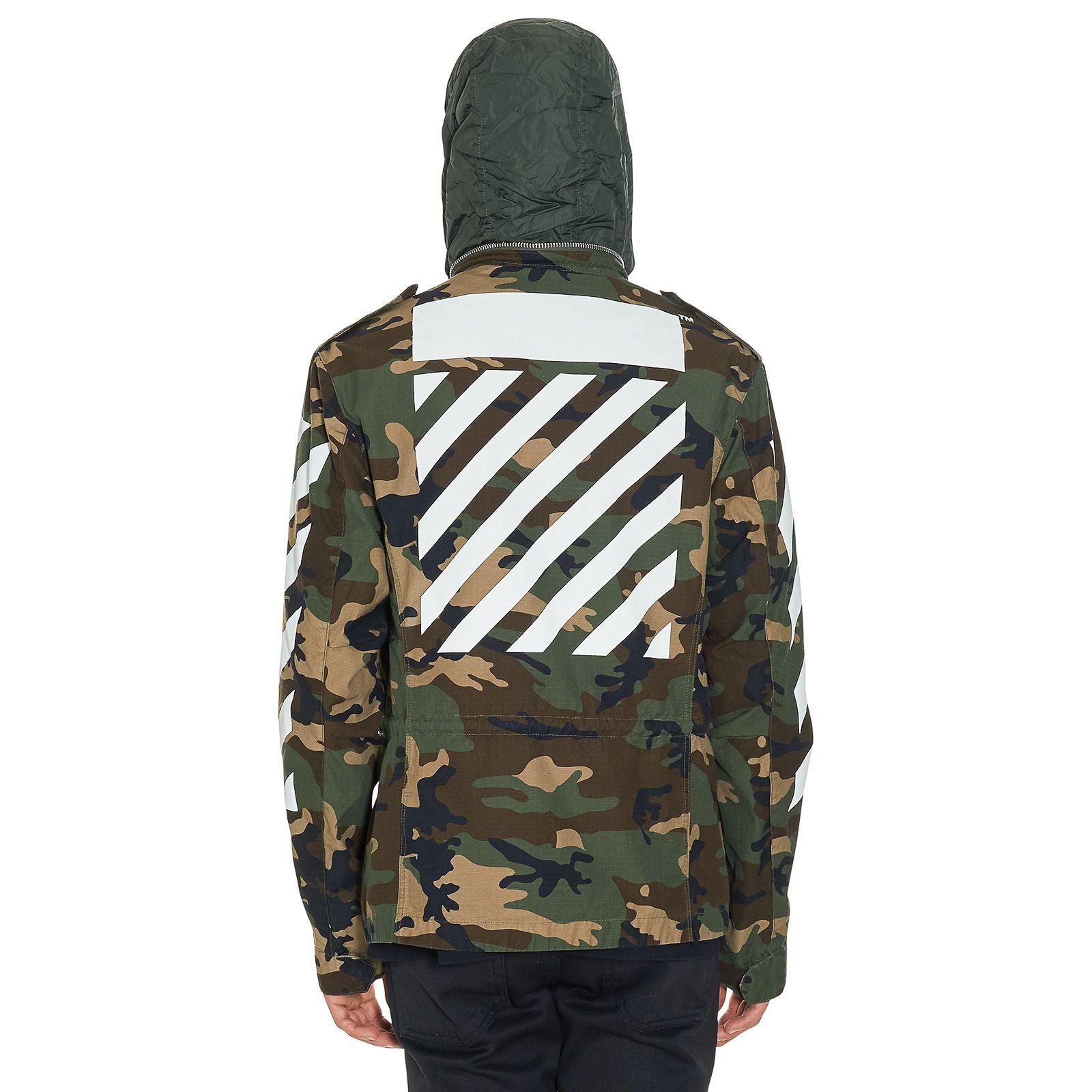 6bc6cd422001 OFF-WHITE c o VIRGIL ABLOH Camouflage M65 Jacket