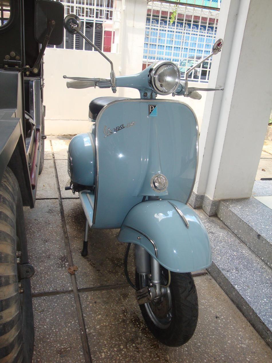 Blue Vespa Px Brakes Vespa Vespa Px Foto Vespa