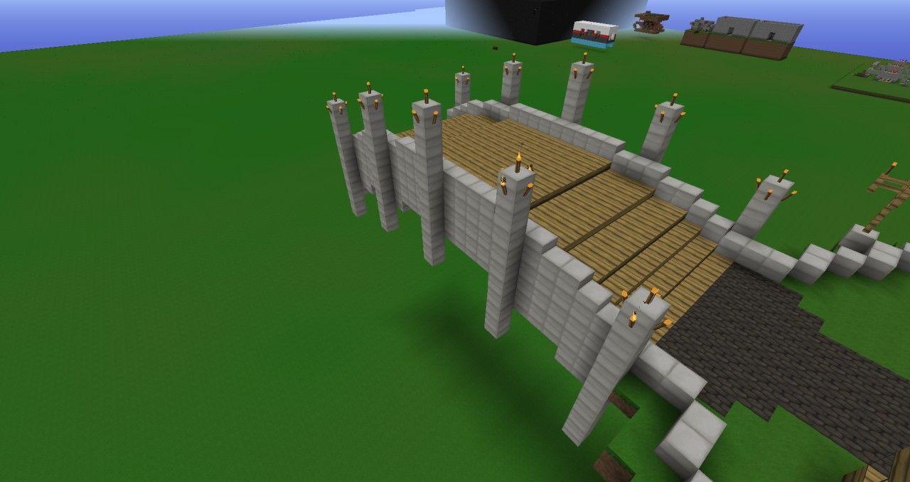 Simple Bridge Minecraft Project Minecraft Gardens