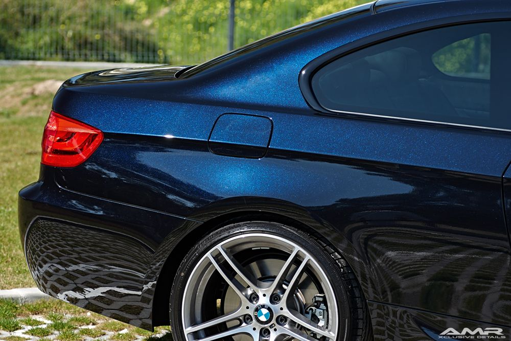 Bmw 3 Series Coupe E92 Bmw Individual Azurite Black With