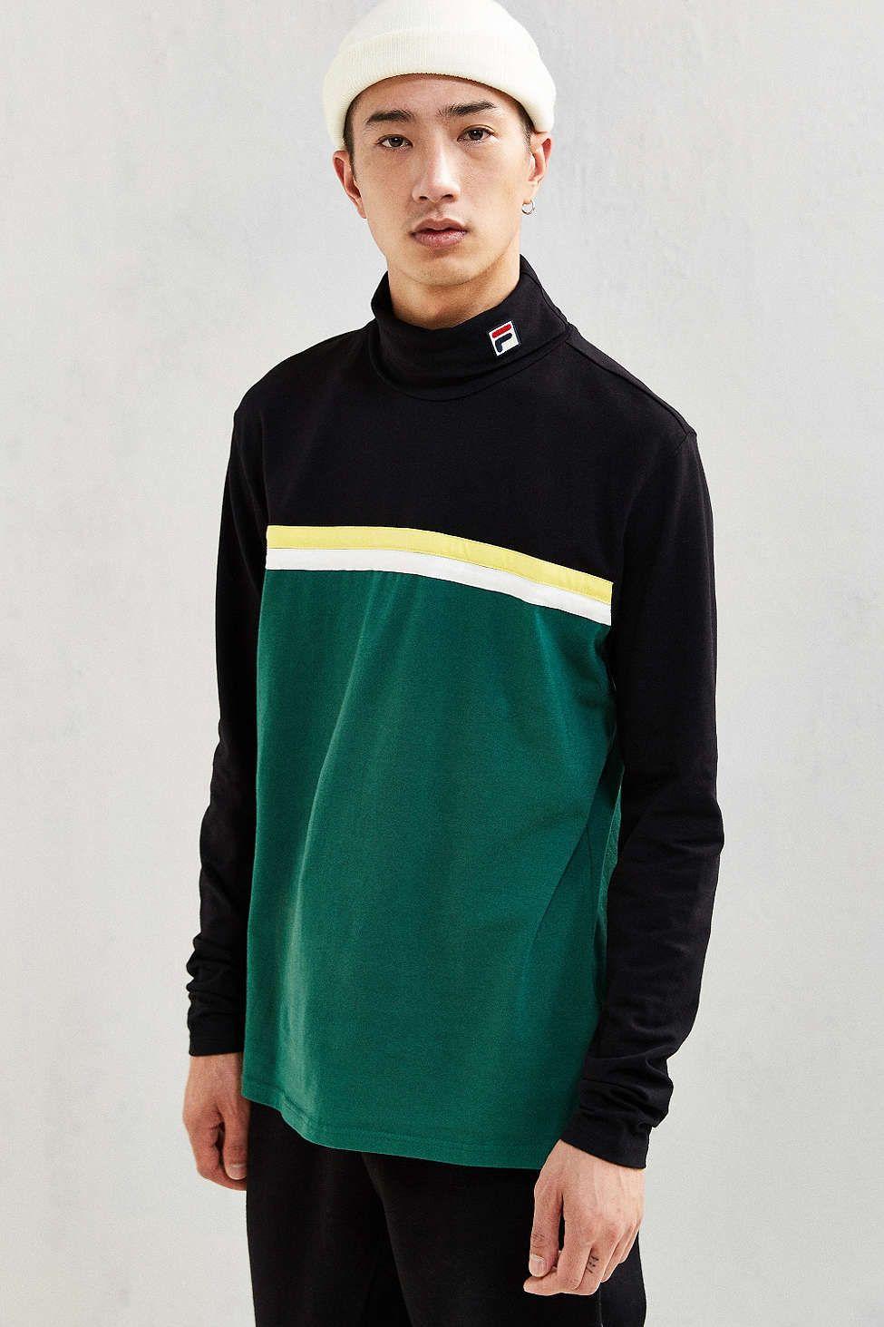 dcf9a9b8dce FILA Bormino Turtleneck Shirt - Urban Outfitters