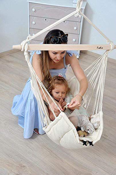 Bella Chica Natura Luxuriöse Baby Hängematte und