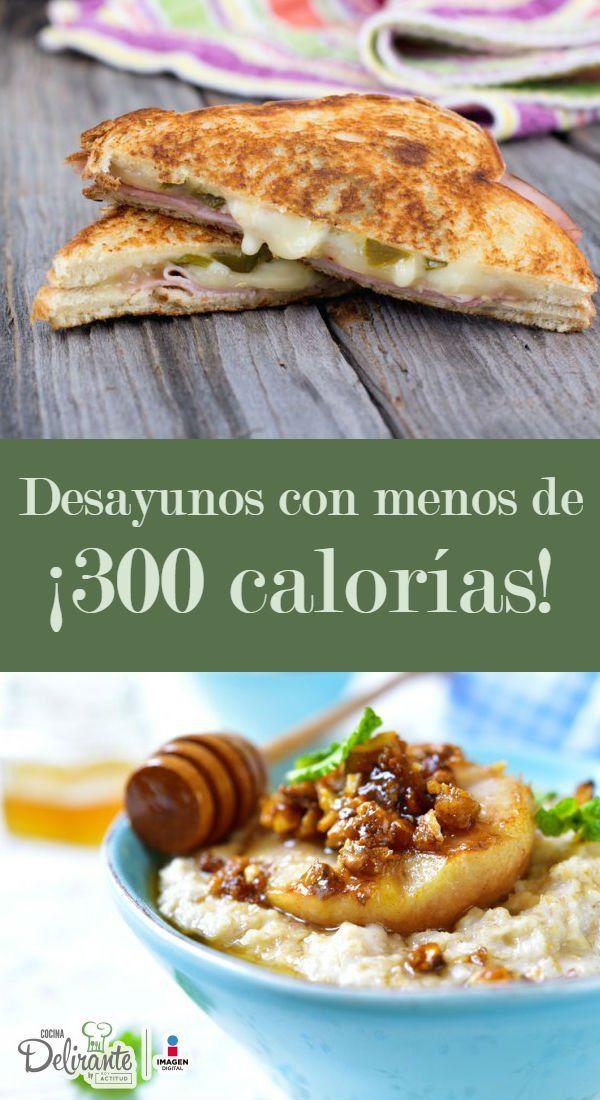 desayunos bajos en calorias y grasas