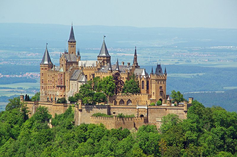 Burg Hohenzollern Burg Castle Visiting