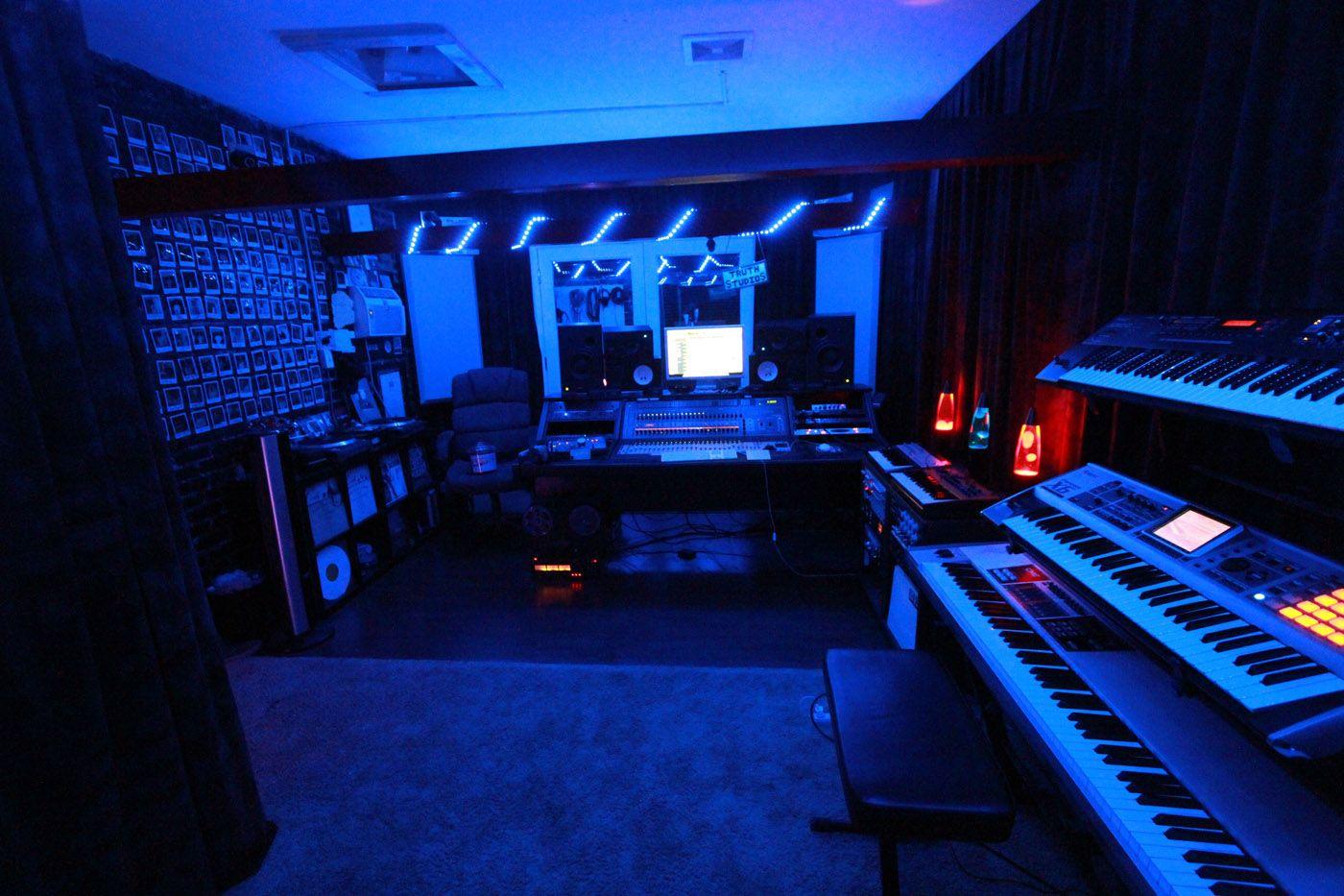 Blue Lights Room Google Search