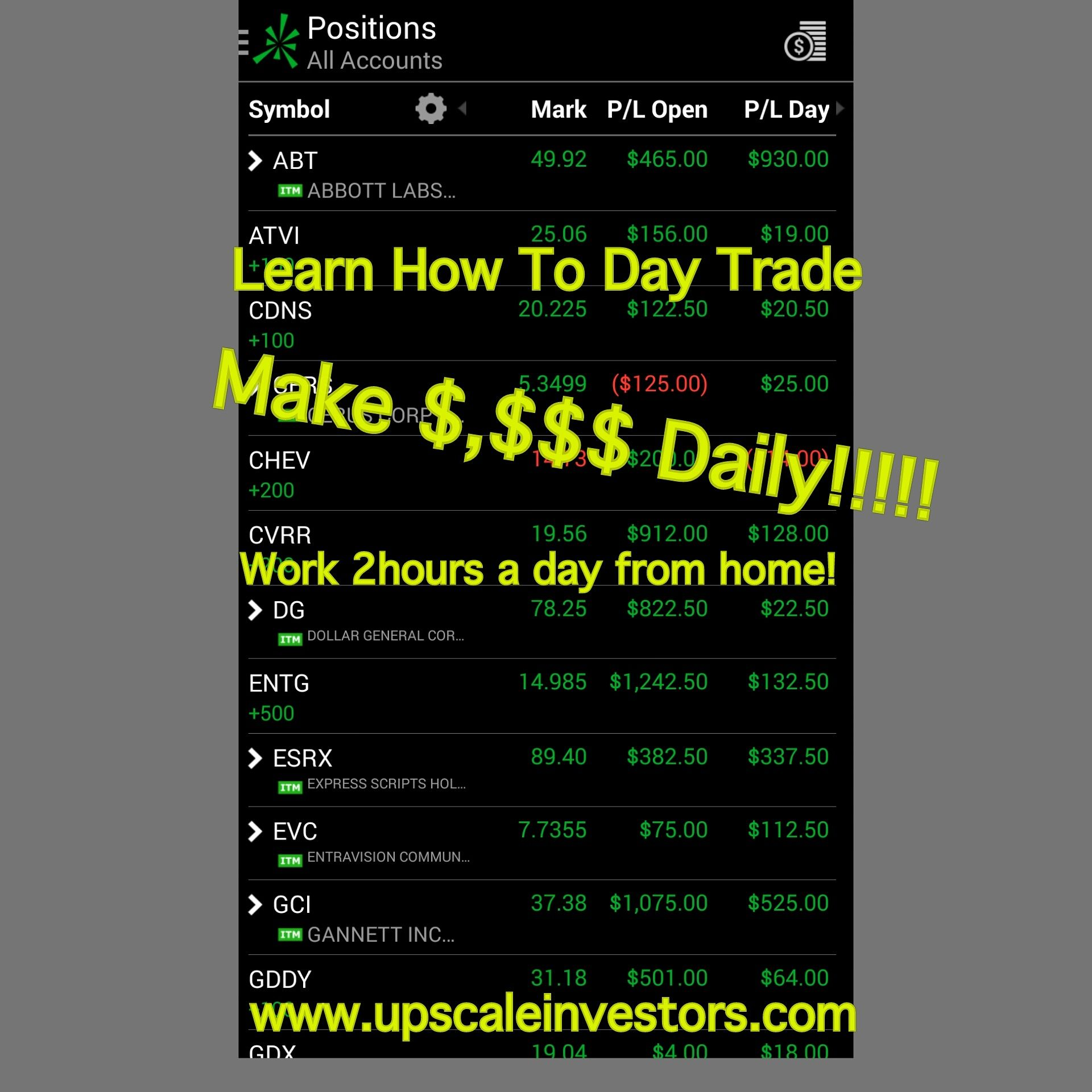 Day trading with 1000 dollars