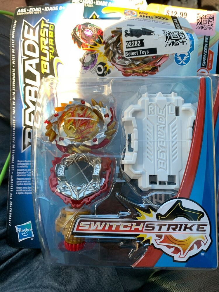 Beyblade Burst Turbo Switch Strike Amaterios A3 Condition Is New